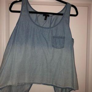 Jessica Simpson denim shirt